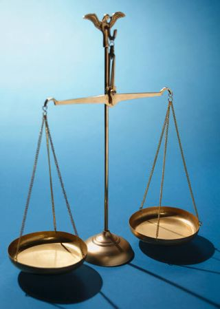 Scales of justicee